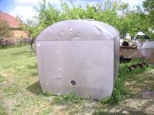 Nerezový tank dělený